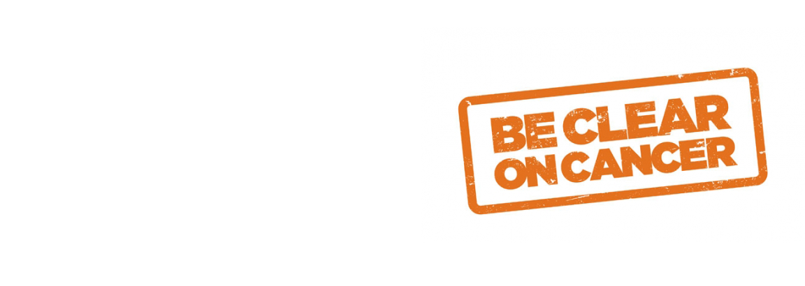 Be Clear On Cancer Logo